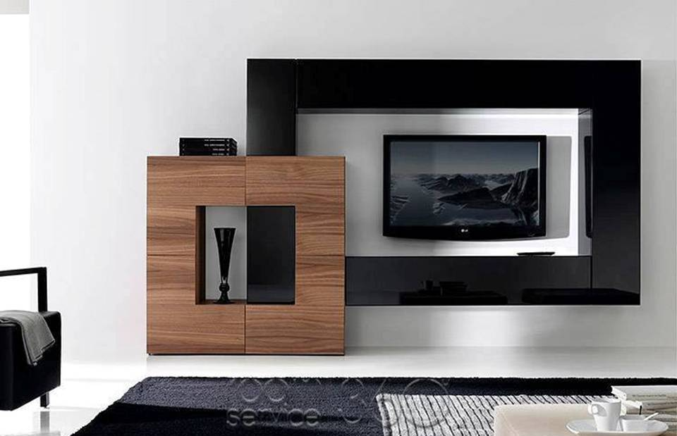 Contemporary Wall Unit Designs: 10 Modern TV Wall Units Furnish House
