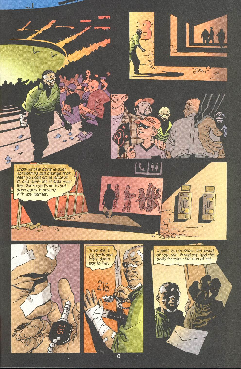Read online 100 Bullets comic -  Issue #19 - 10