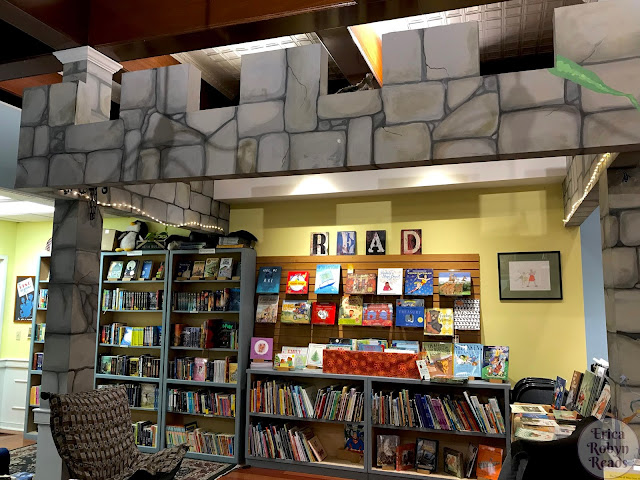 RiverRun Bookstore in Portsmouth, New Hampshire children's section