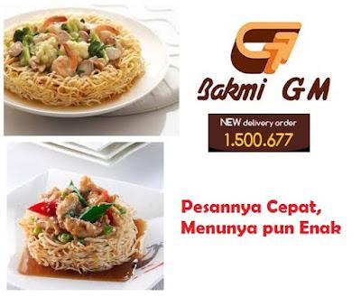 Kuliner Indonesia - Bakmi GM Delivery