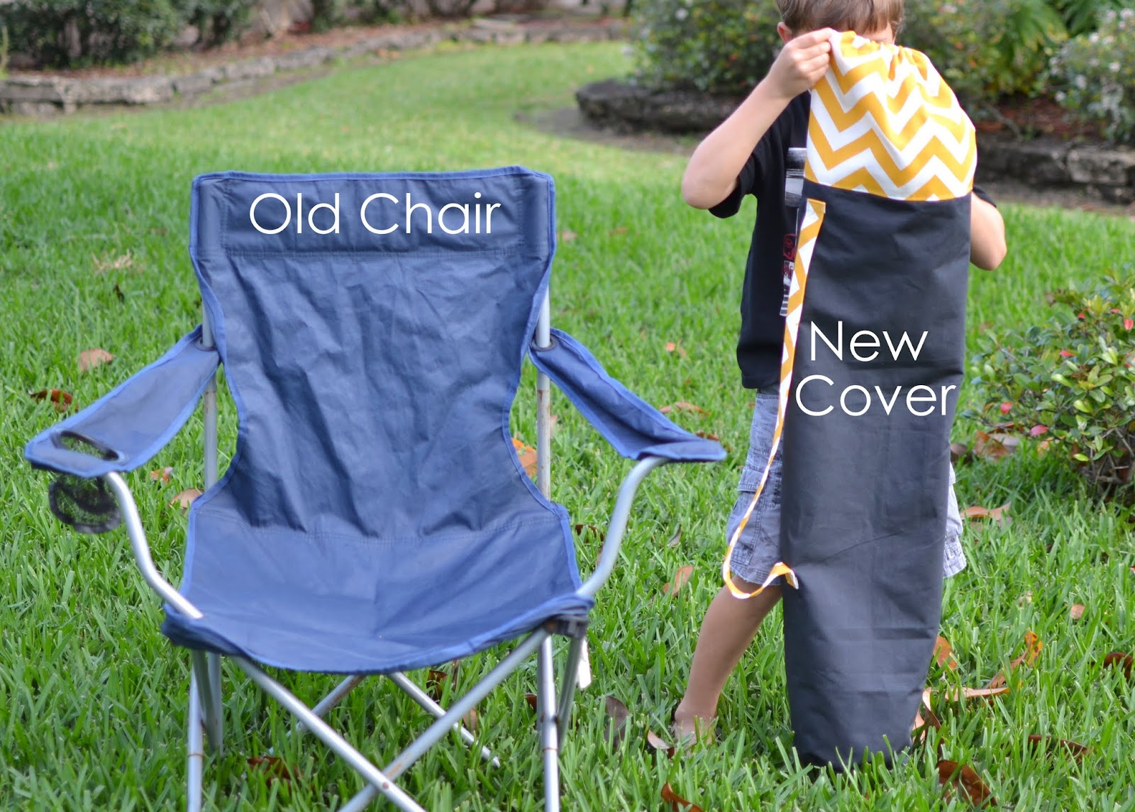 soccer mom covered chairs behind the chair blue susan makes i am a camping