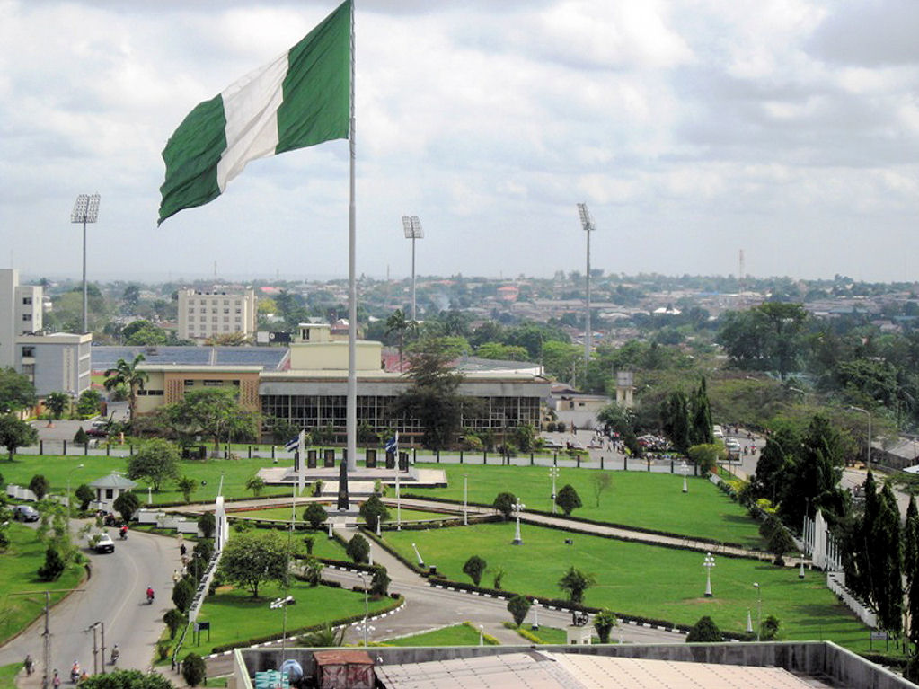 biggest flag in Africa at Calabar