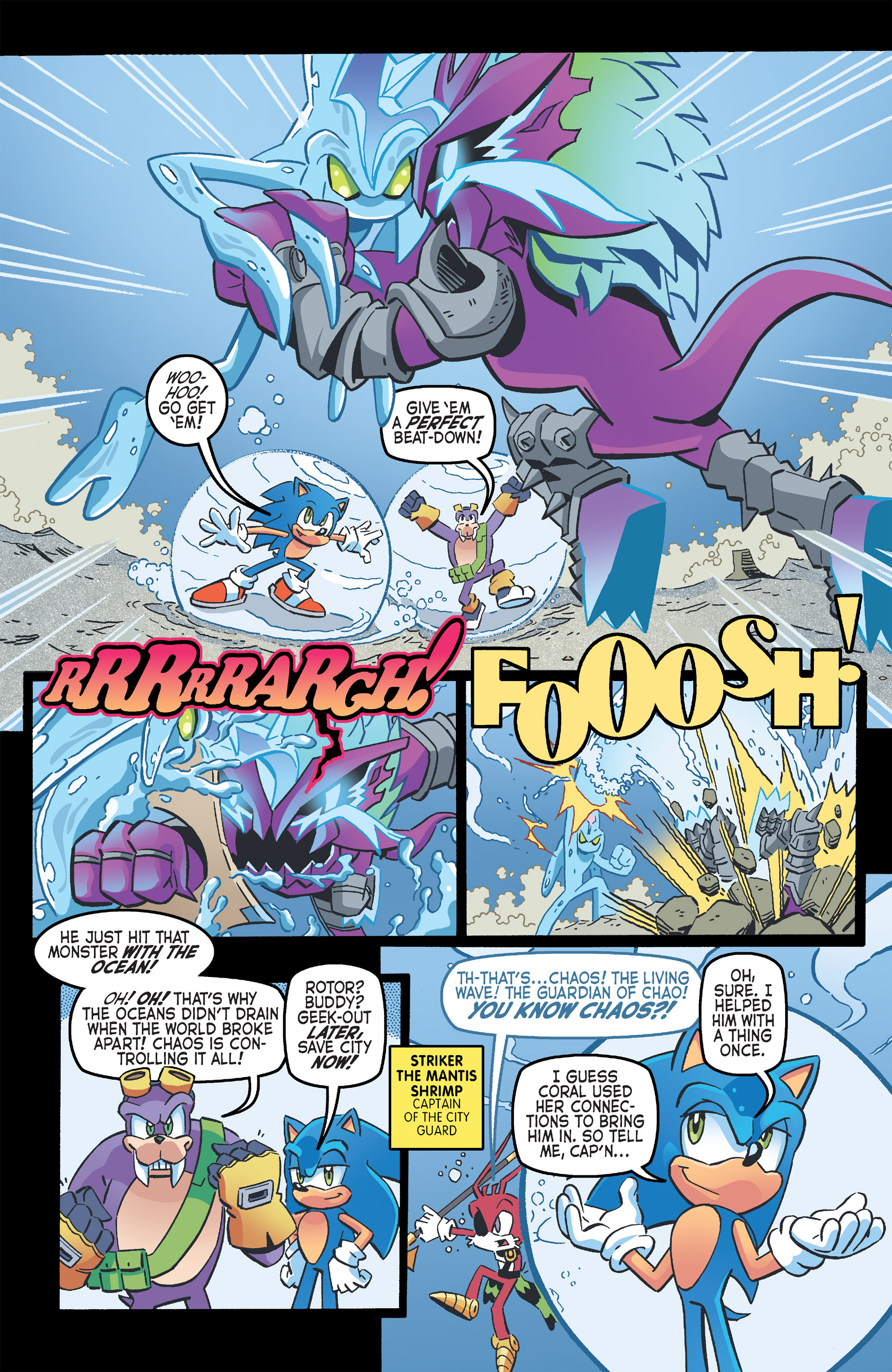 Read online Sonic The Hedgehog comic -  Issue #263 - 7