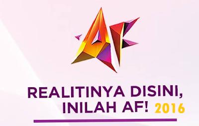 Senarai Pelajar AF2016 Akademi Fantasia