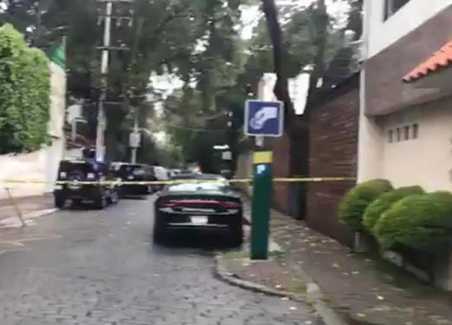 TRAS FUNGIR, COMO REPARTIDO, SUJETO ASESINA A ESCOLTA EN CASA DEL EX  CARDENAL NORBERTO RIVERA , EN CDMX