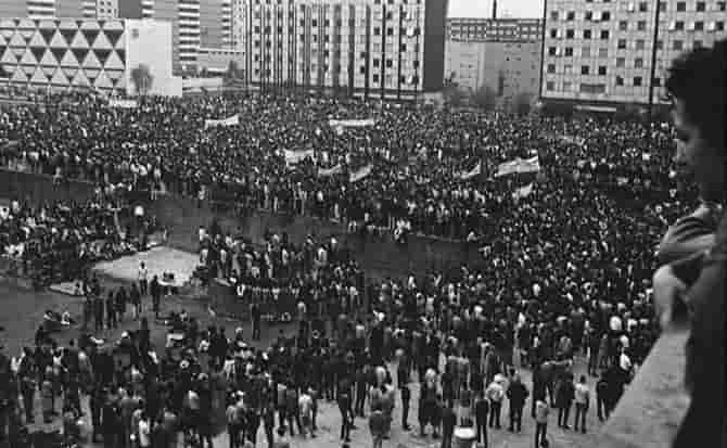 Tlatelolco, mitin, estudiantes