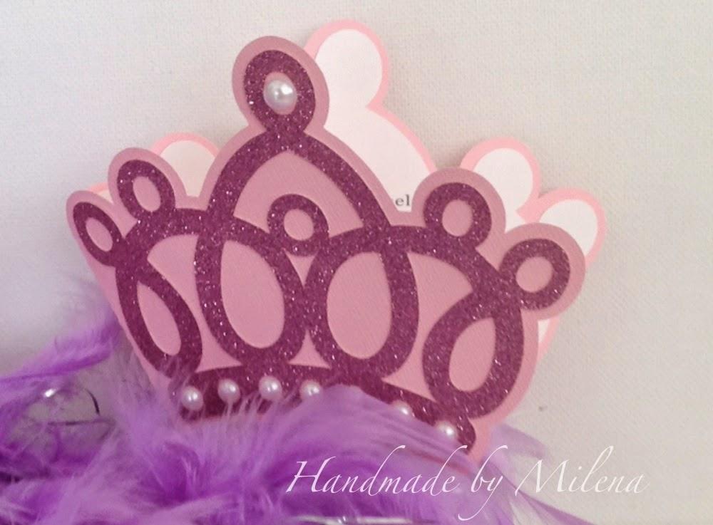 Handmade By Milena Corona Para Una Linda Princesita