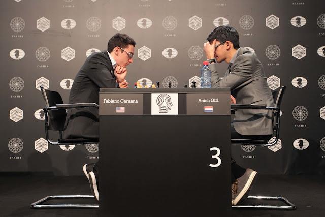 Caruana y Giri en la segunda ronda del Torneo de Candidatos