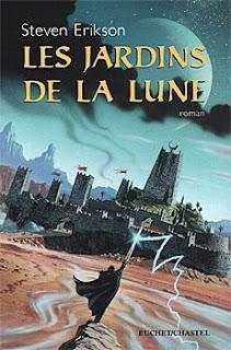 Couverture livre - critique littéraire - Le Livre Malazéen des glorieux défunts - Les jardins de la lune