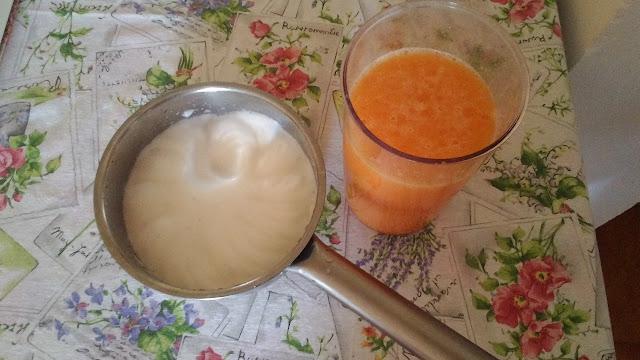 Aquafaba e la base per il sorbetto al melone