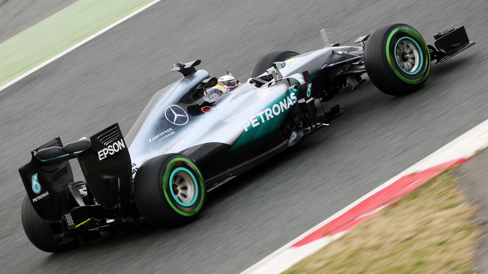 Mercedes AMG Petronas – W07 Hybrid F1