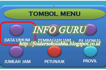 Inilah Aplikasi Jadwal Pelajaran SD, SMP, SMA dan SMK Model Baru