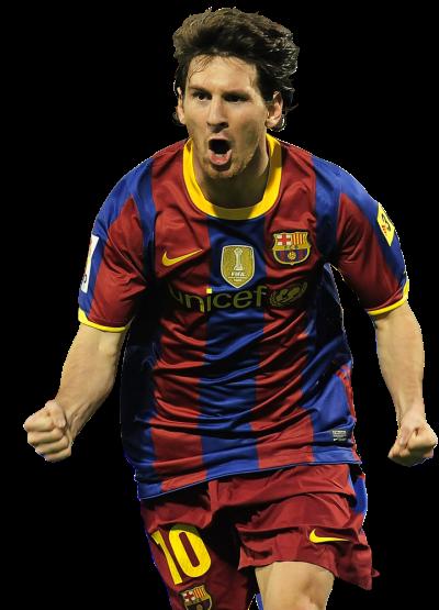 Renders Futboleros: Lionel Andrés Messi.