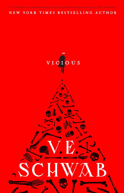 Review & Blackout Poetry: Vicious by V.E. Schwab ~ #FearlessWomen