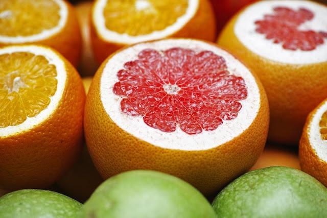 grapefruit, orange