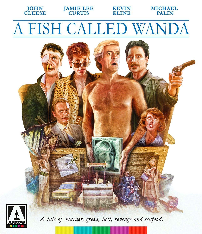 Nixpix dvd blu ray reviews for A fish called wanda