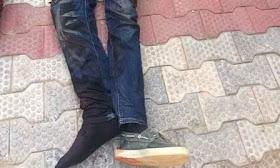 police killed Robber