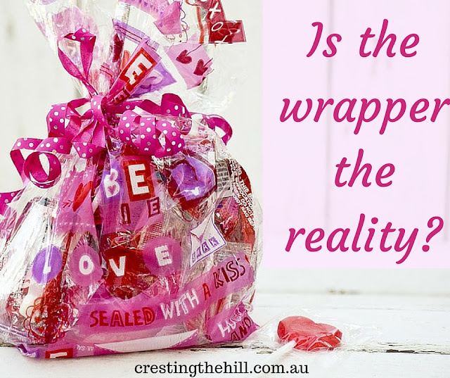 are we authentic or have we chosen the wrapper over the reality?