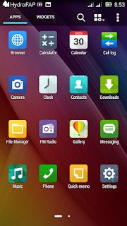 [ROM]HyDroFap v2.0 Rom For Cherry Mobile Me Vibe X170 [MT6592] Screenshots