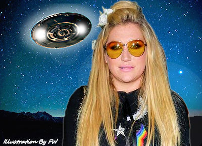 UFOs Witnessed by Pop Star Kesha