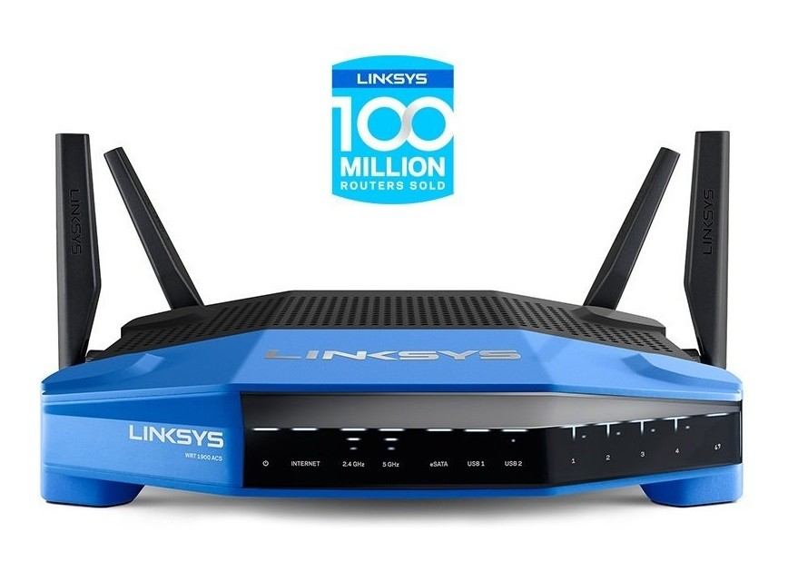 Linksys WRT1900 AC Rezension