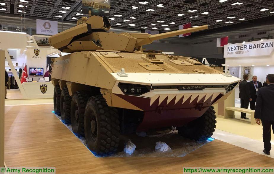 https://2.bp.blogspot.com/--qCa1sjErxA/WqZMUbfbGwI/AAAAAAAAc9o/virZfVLQVEMi7gDfn403ZwhyEt6E37oJgCLcBGAs/s1600/DIMDEX_2018_Barzan_Holdings_presents_Al_Zubarah_Qatari_VBCI_Nexter_8x8_armored_925_001.jpg