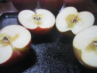 半割りりんご