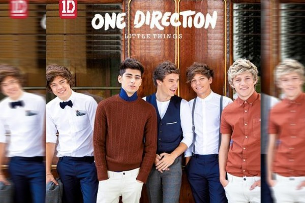 24/7: One Direction - Little Things - Single Cover