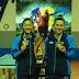 A dupla dourada de Joinville no tênis de mesa
