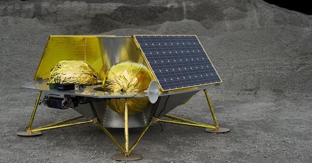 Astrobotic's Griffin lunar lander. Photo Credit: Astrobotic