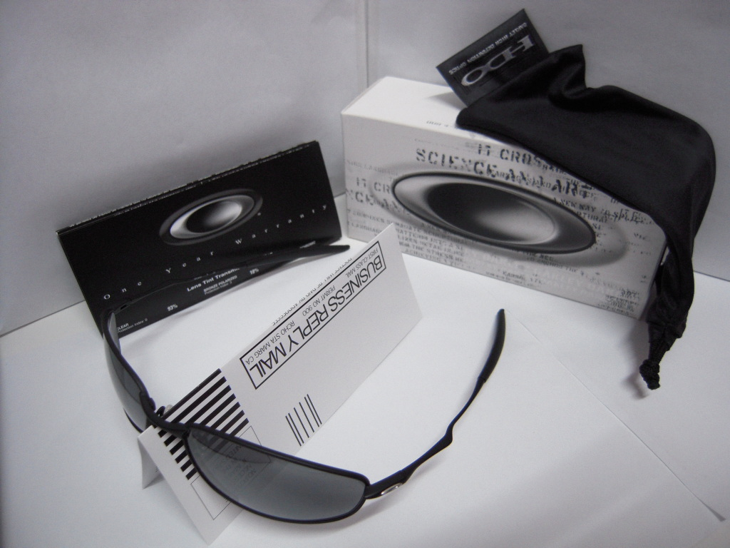 48f38f00da9 Oakley Whisker Black Black Iridium 05 715 « Heritage Malta