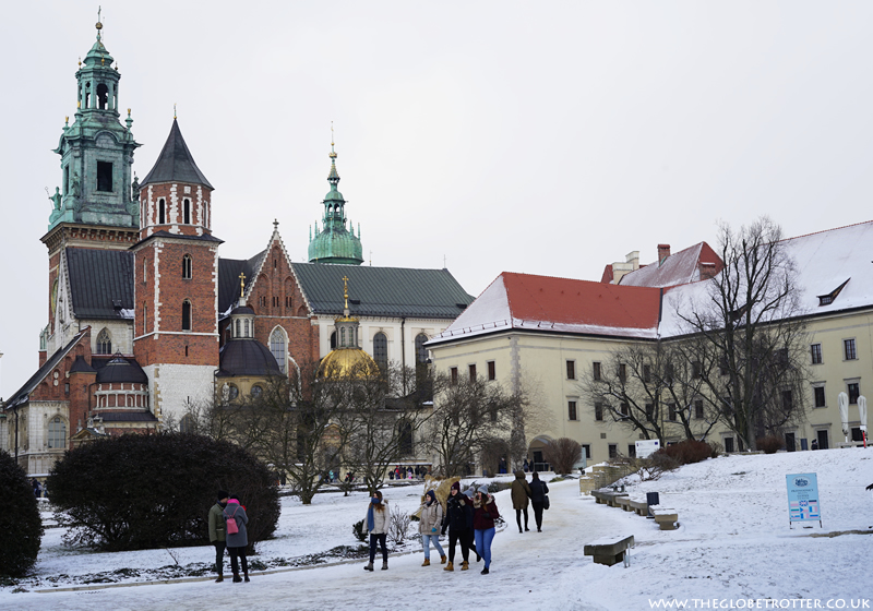 Wawel Castle and Cathedral in Krakow