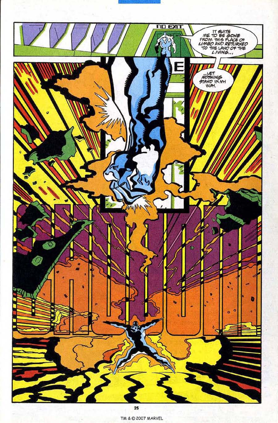Read online Silver Surfer (1987) comic -  Issue #84 - 27