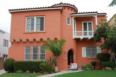 บ้านสีส้มสวยๆ