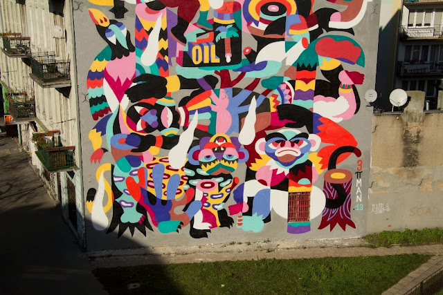New Street Art By 3TTMAN In Lodz, Poland For Fundacja Urban Forms Festival 2013. 4
