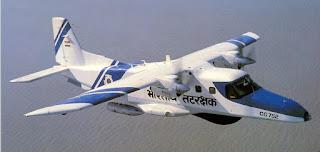 Pesawat Dornier Do-228 Penjaga Pantai India