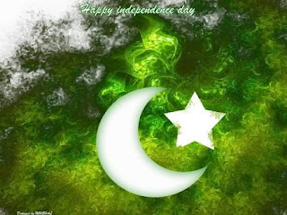 Pakistani Flag cover photo for happy independence day