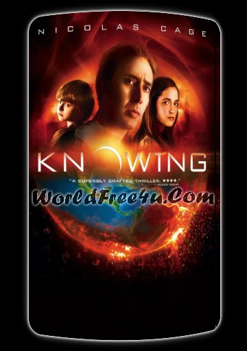 Poster Of Knowing (2009) Full Movie Hindi Dubbed Free Download Watch Online At worldfree4u.com