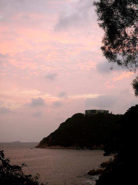 Sunset in Stanley, Hong Kong