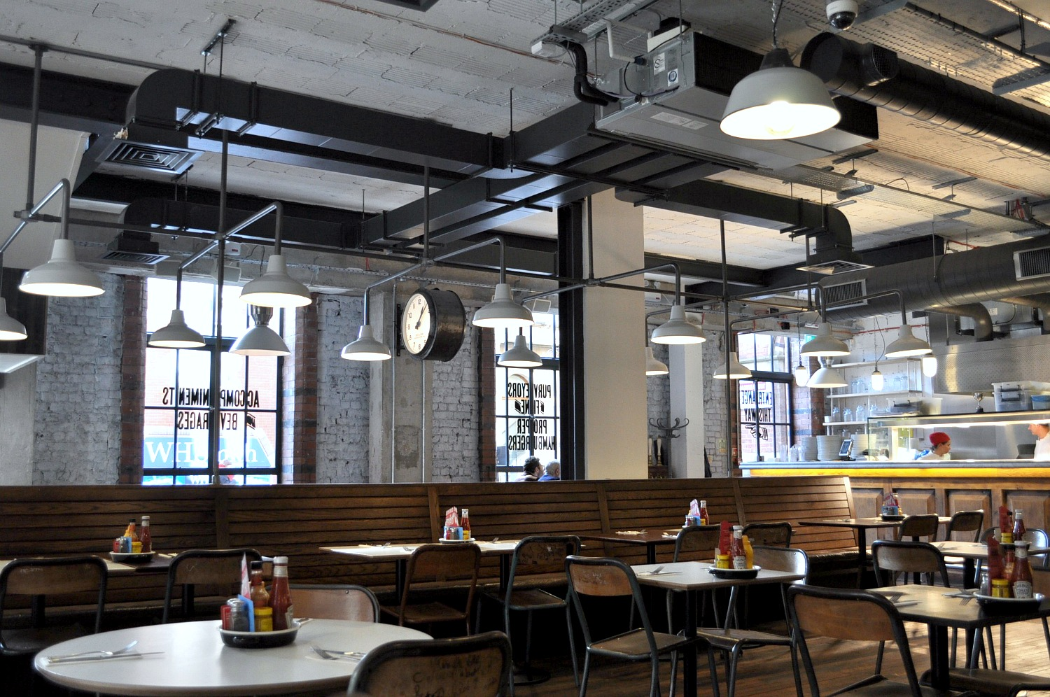 Insdustrial interior inspiration and byron burger