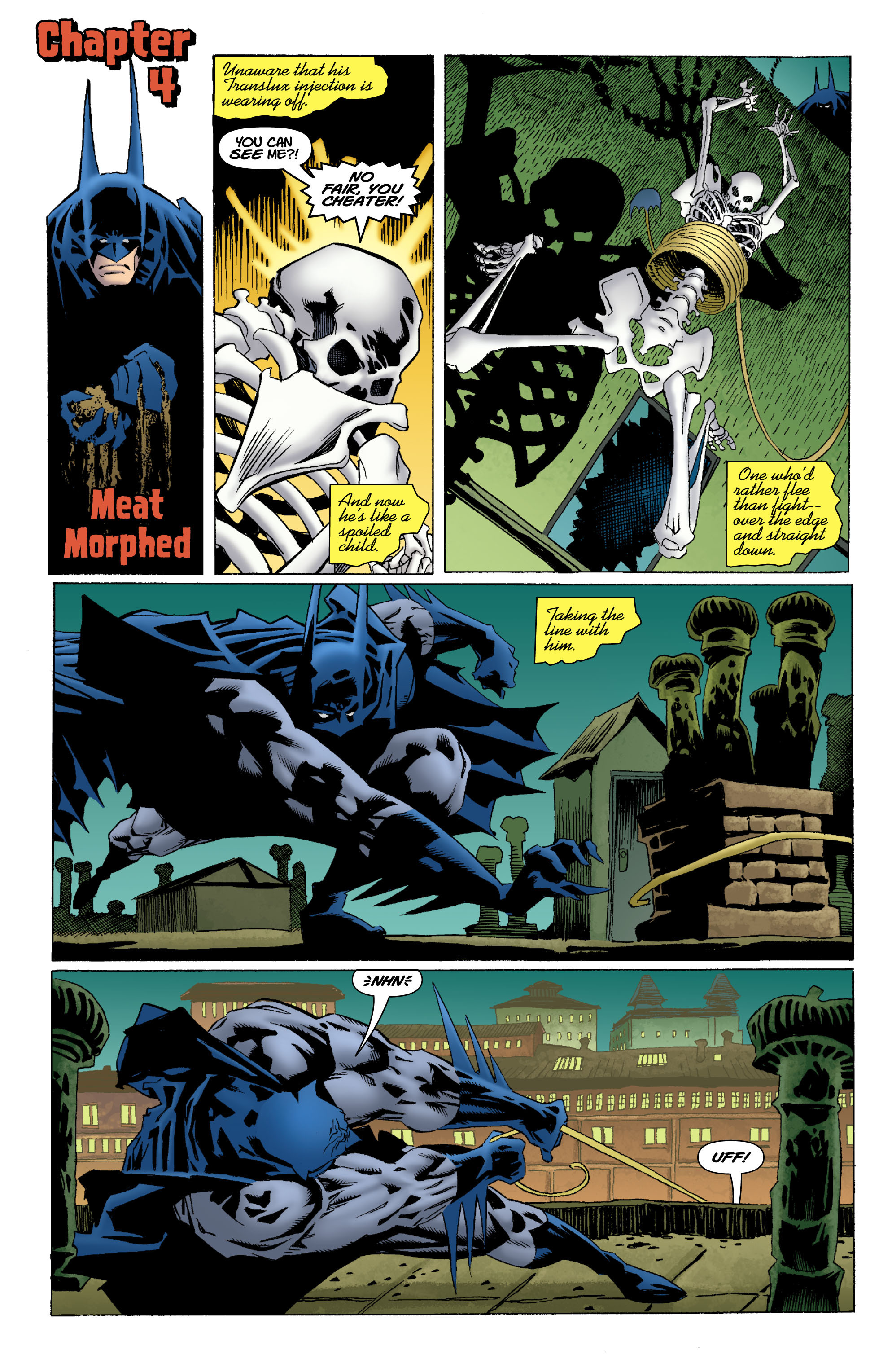 Read online Batman: Unseen comic -  Issue #4 - 21