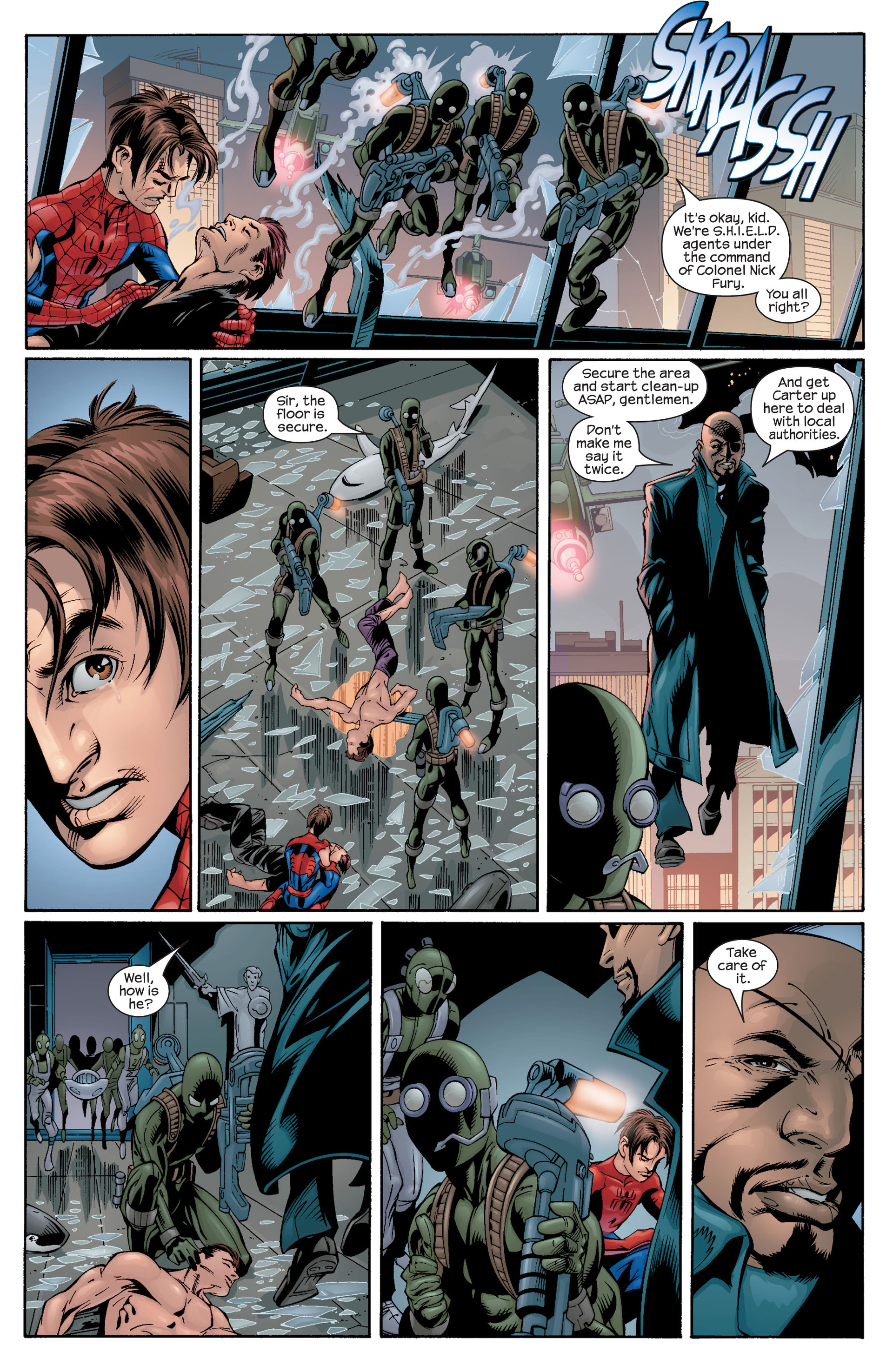 Read online Ultimate Spider-Man (2000) comic -  Issue #27 - 11