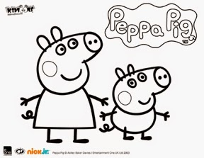 keksi-cookies.blogspot.com: Peppa Pig and George cookies