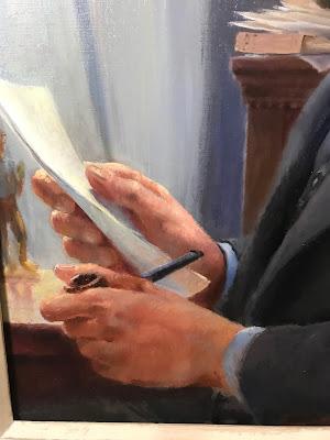 Quirk Portrait, Quirk Painter, Artist Quirk, Pennsylvania Artist Quirk, Maine Painter Francis Quirk