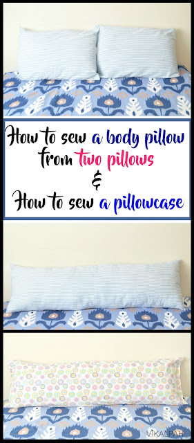 DIY body pillow and pillowcase