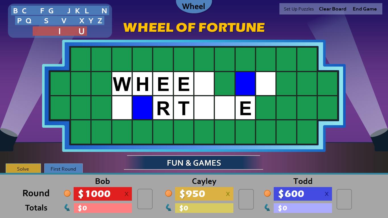 Wheel Of Fortune Template Powerpoint Costumepartyrun