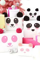 pacchi di natale panda