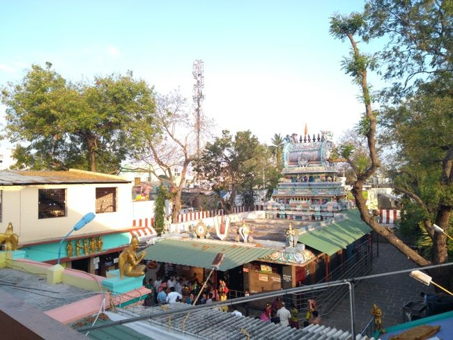 View Of Sri Periya Anjaneya Temple Complex