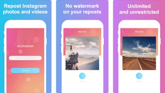 cara menyimpan foto dari instagram di IOS