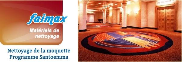 faimax mat riel de nettoyage professionnel nettoyage de la moquette programme santoemma. Black Bedroom Furniture Sets. Home Design Ideas